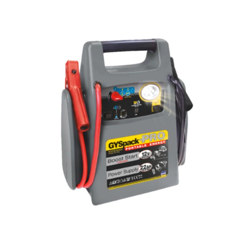 Booster démarreur alimentation LUMIERE GYSPACK PRO 026155 600A/1750A