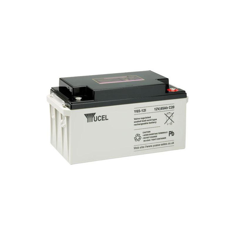 Batterie plomb étanche Y65-12 Yuasa Yucel 12v 65ah