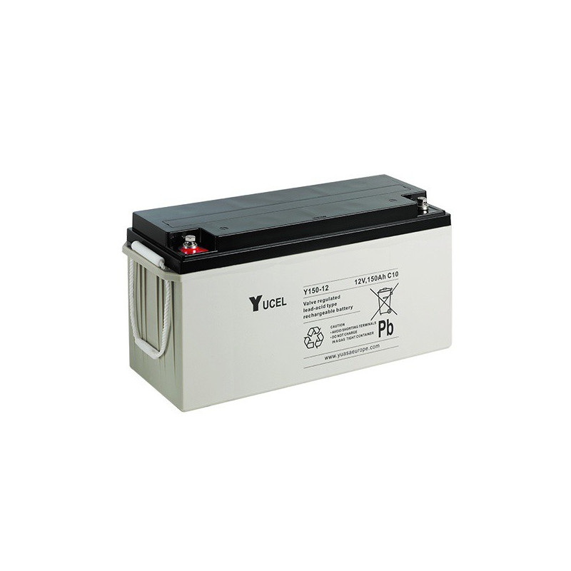 Batterie plomb étanche Y150-12 Yuasa Yucel 12v 150ah