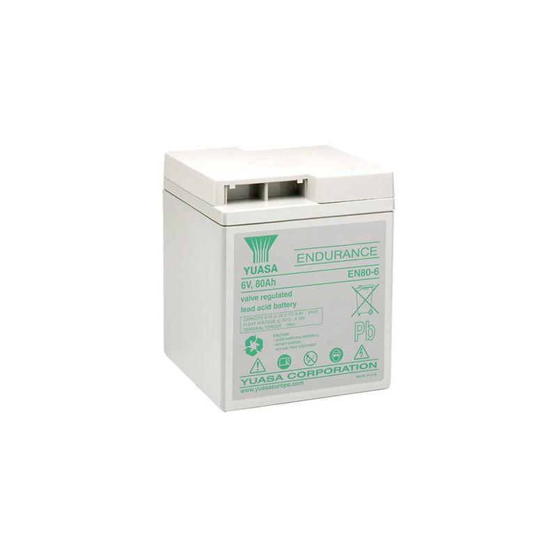 Batterie plomb étanche EN80-6 Yuasa 6v 80ah