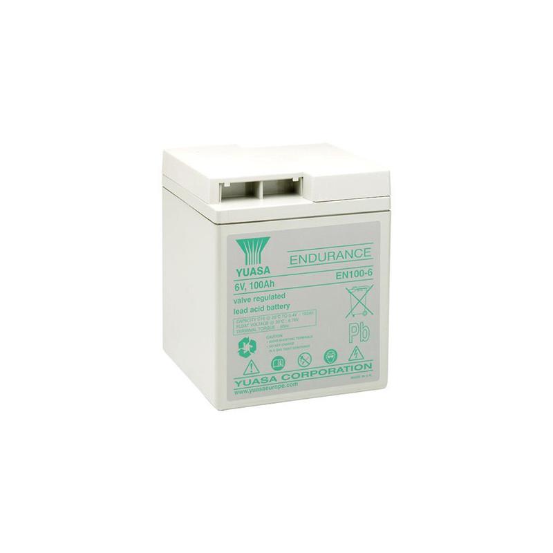 Batterie plomb étanche EN100-6 Yuasa 6v 102ah