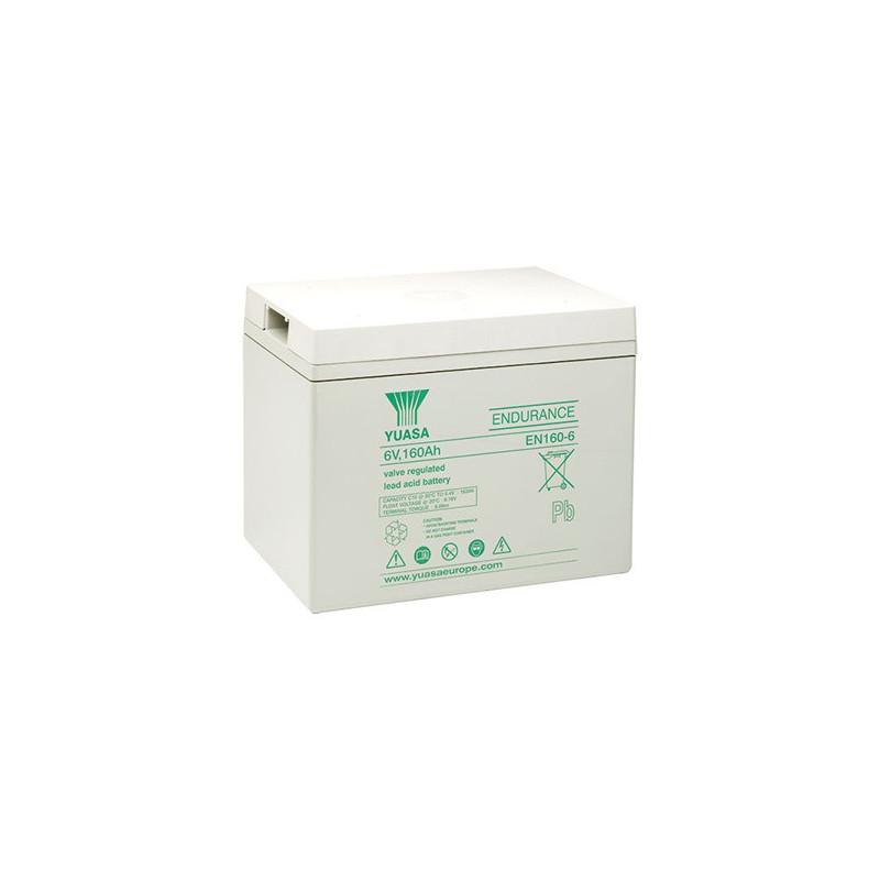 Batterie plomb étanche EN160-6 Yuasa 6v 163ah