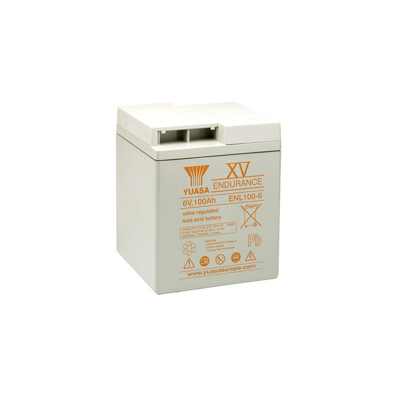 Batterie plomb étanche ENL100-6 Yuasa 6v 102ah