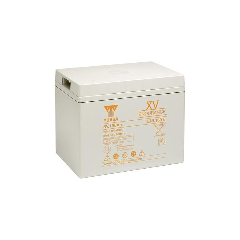 Batterie plomb étanche ENL160-6 Yuasa 6v 163ah