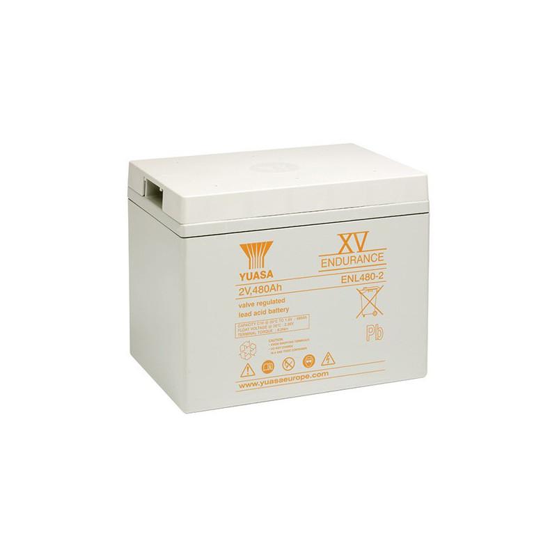 Batterie plomb étanche ENL480-2 Yuasa 2v 489ah