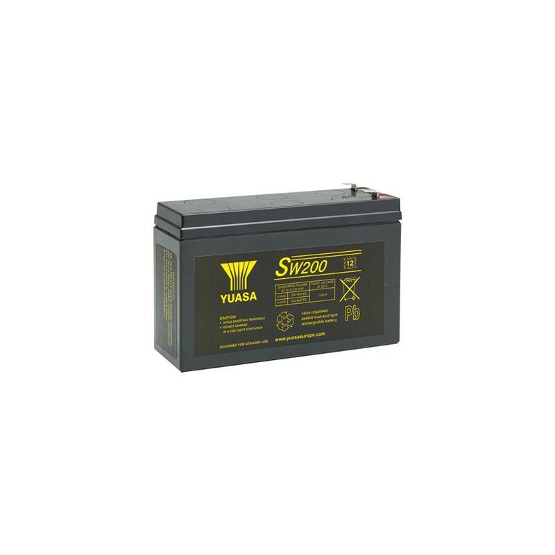 Batterie plomb étanche SW200 Yuasa Yucel 12v 5.8ah