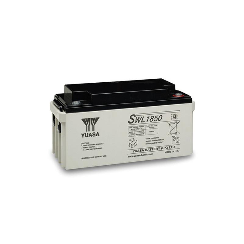Batterie plomb étanche SWL1850 Yuasa Yucel 12v 66ah