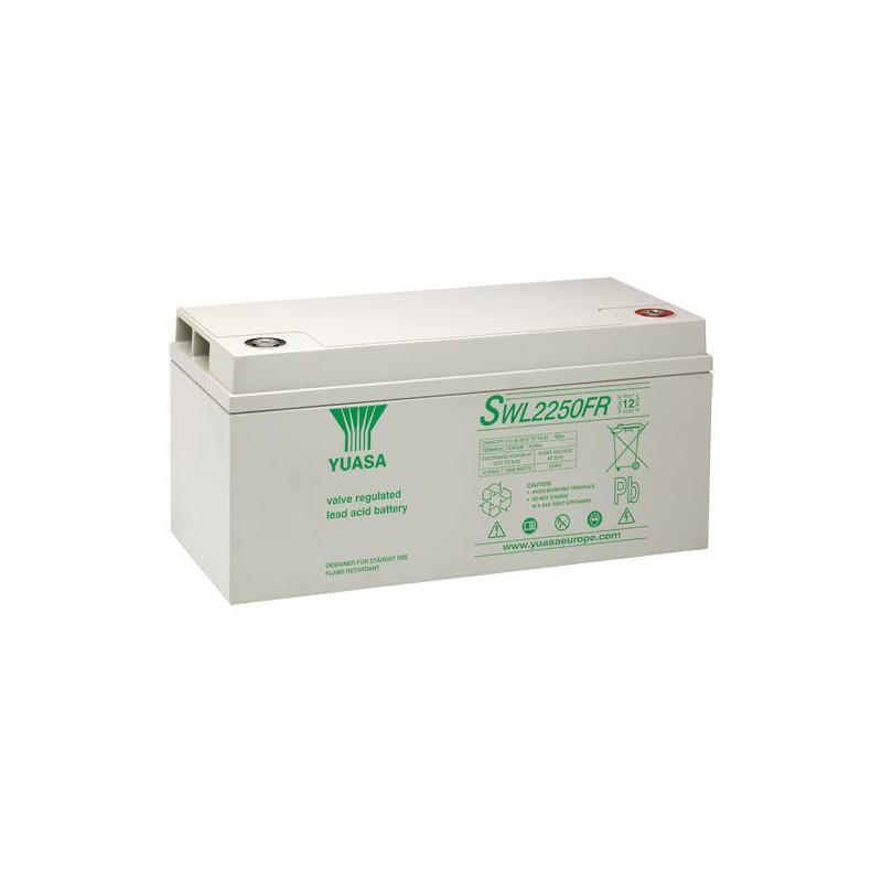 Batterie plomb étanche SWL2250 Yuasa Yucel 12v 76ah