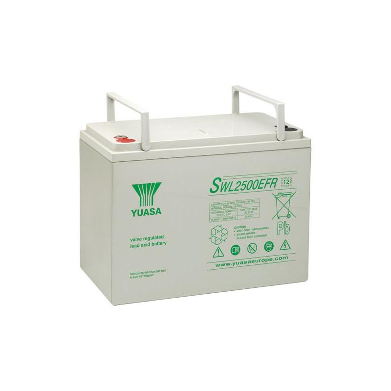 Batterie plomb étanche SWL2500 Yuasa Yucel 12v 91ah