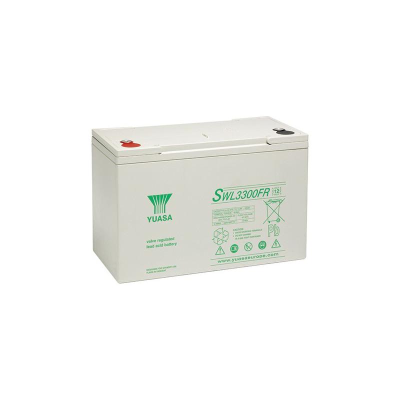 Batterie plomb étanche SWL3300 Yuasa Yucel 12v 102.5ah