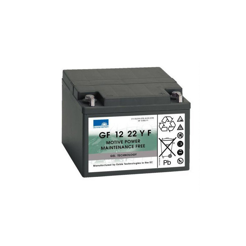 Batterie Gel Sonnenschein GF12022YF 12v 24ah