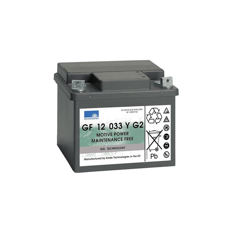 Batterie Gel Sonnenschein GF12033YG2 12v 38ah