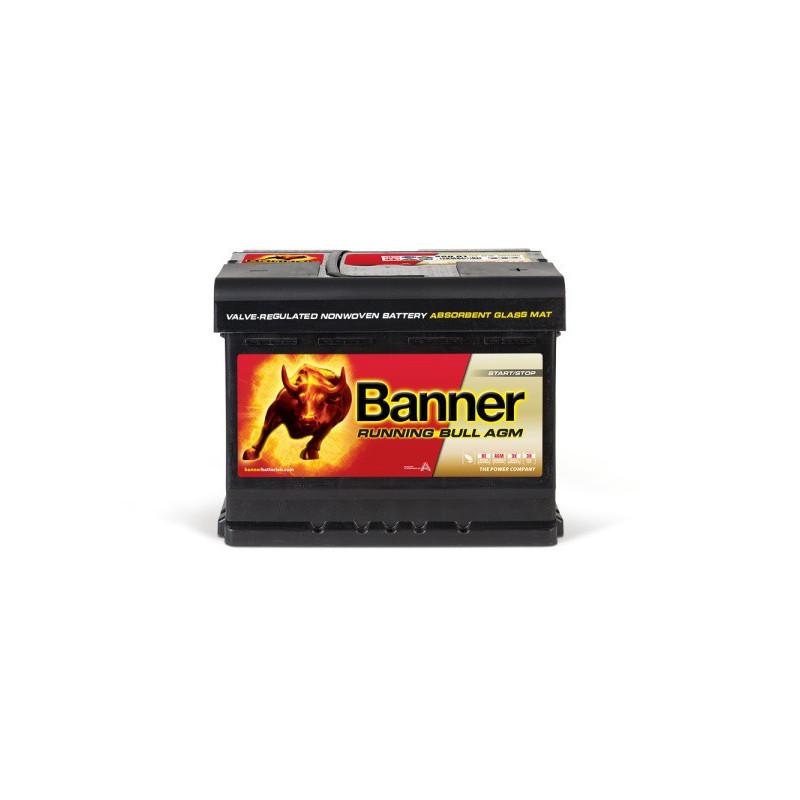 Batterie Banner Running Bull 56001 AGM 12v 60ah 640A