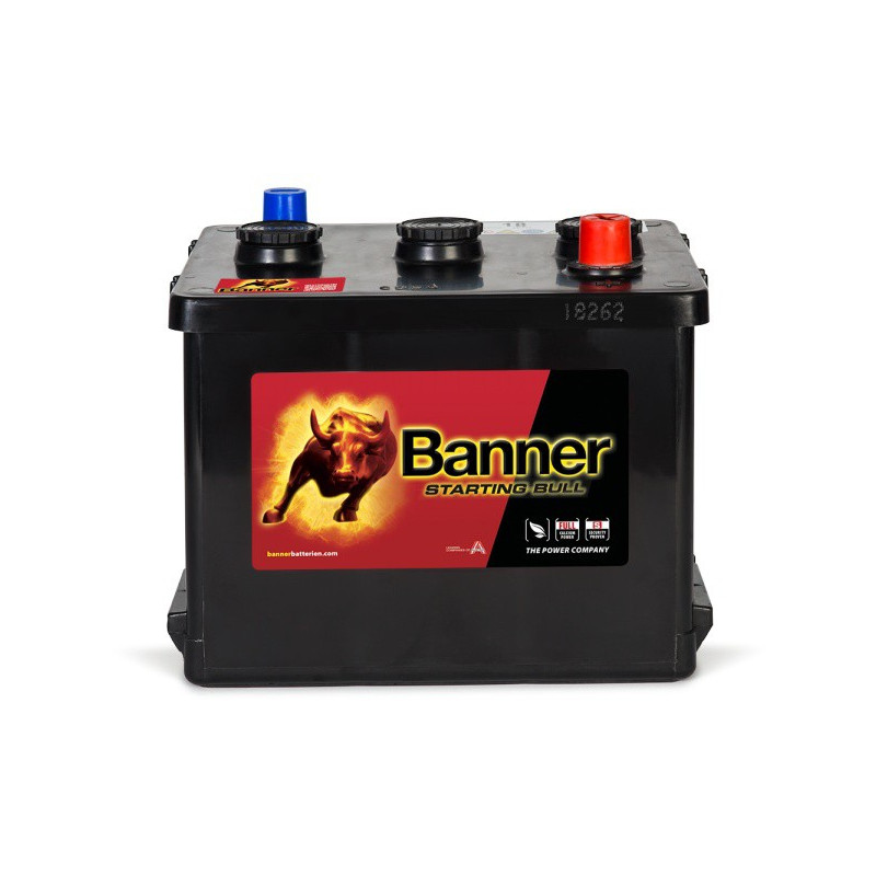 Batterie Starting Bull Banner 07718 6v 77ah 360A