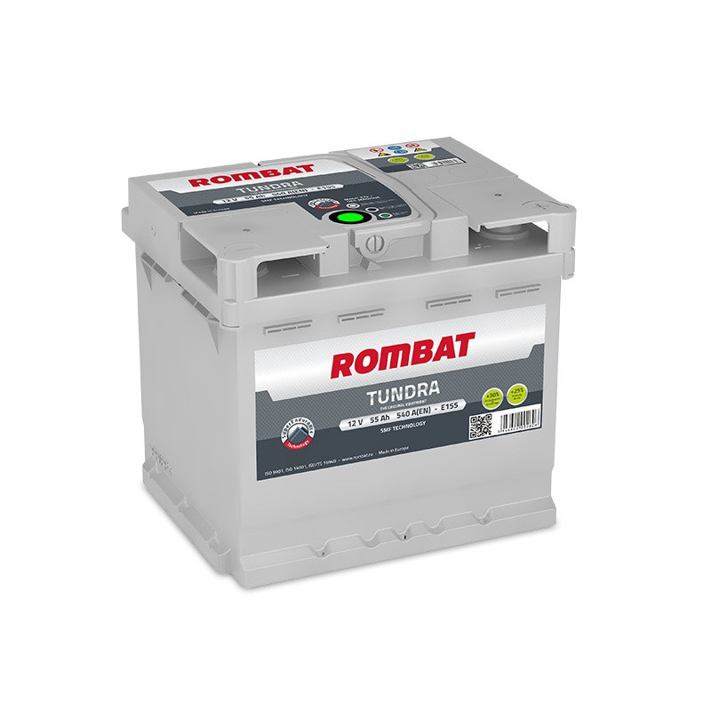 Batterie Rombat TUNDRA E155 12V 55ah 540A