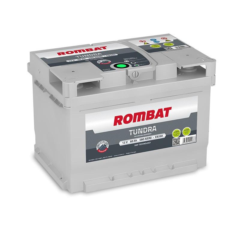 Batterie Rombat TUNDRA EB260 12V 60ah 580A