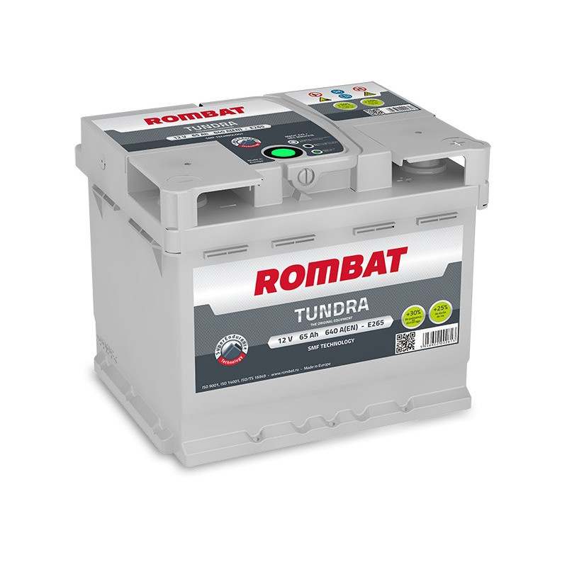 Batterie Rombat TUNDRA E265 12V 65ah 640A