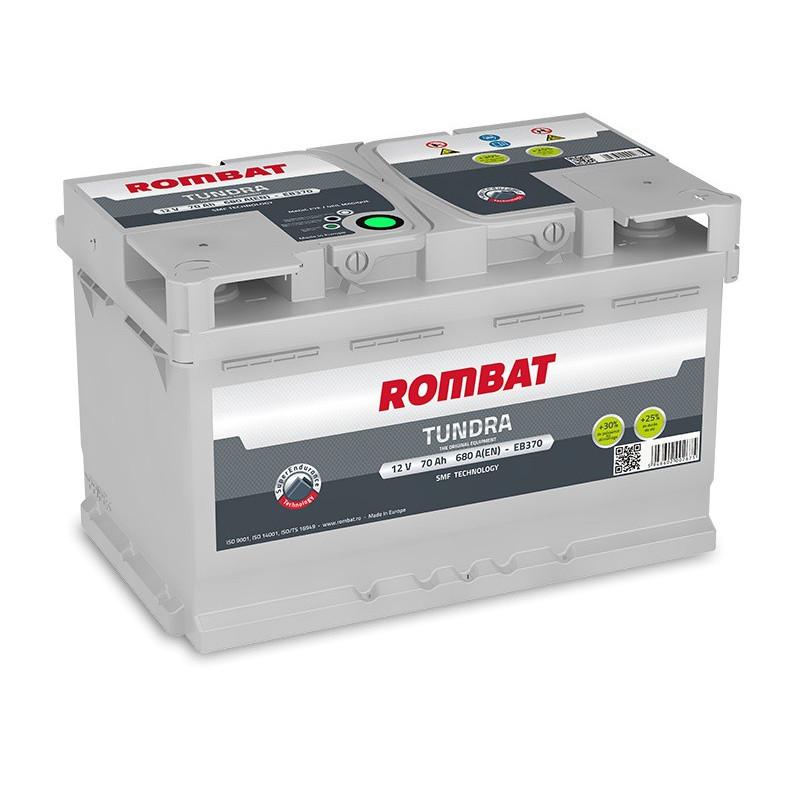 Batterie Rombat TUNDRA E370 12V 70ah 680A