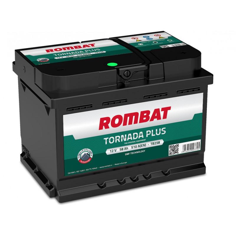 Batterie Rombat TORNADA TB258 12V 58ah 510A