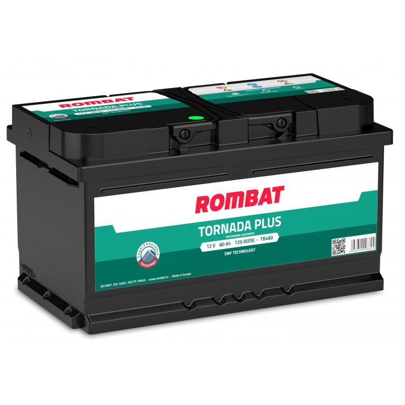 Batterie Rombat TORNADA TB480 12V 80ah 720A