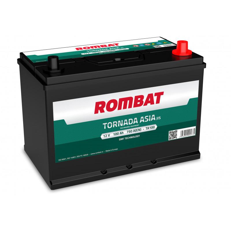 Batterie Rombat TORNADA TA100 12V 100ah 750A