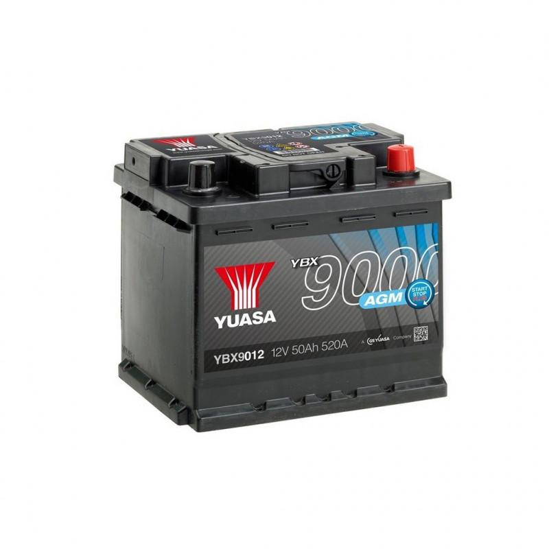 Batterie décharge lente YUASA YBX9012 12V 50AH