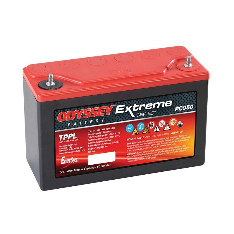 Batterie Odyssey PC950 12v 34ah 535A