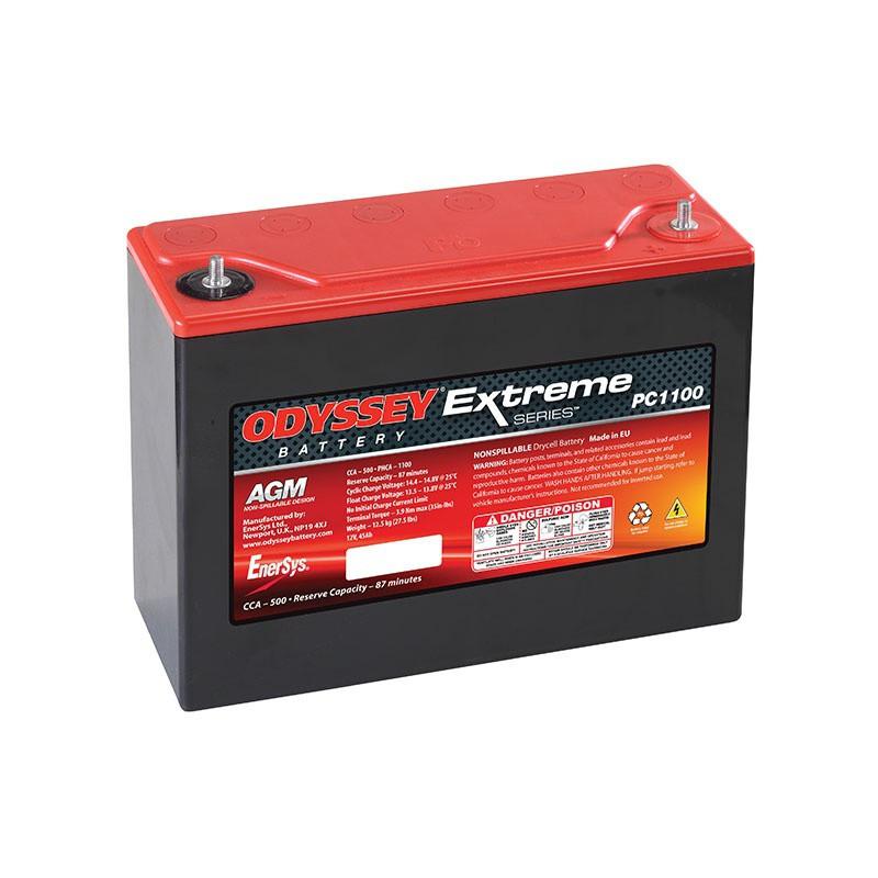 Batterie Odyssey PC1100 12v 45ah 450A