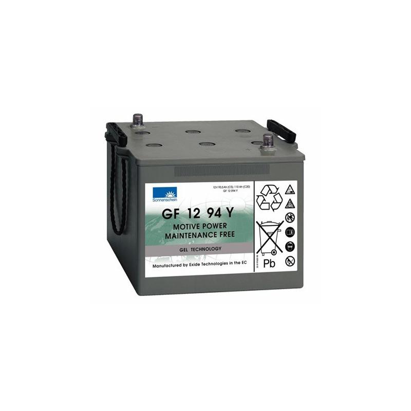 Batterie Gel Sonnenschein GF12094 Y 12v 110ah