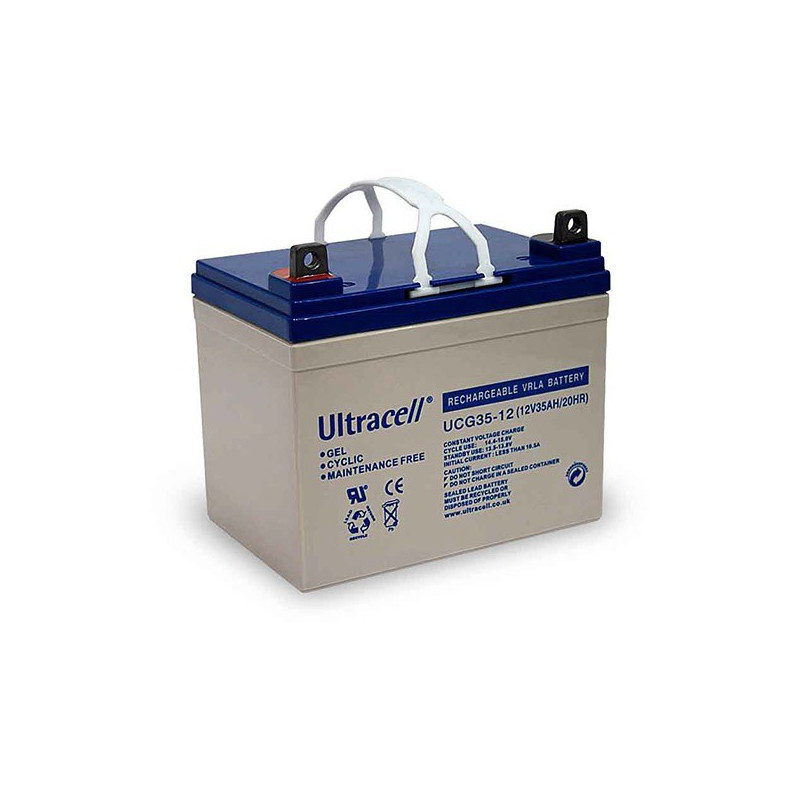Batterie Gel Ultracell UCG35-12 12v 35ah