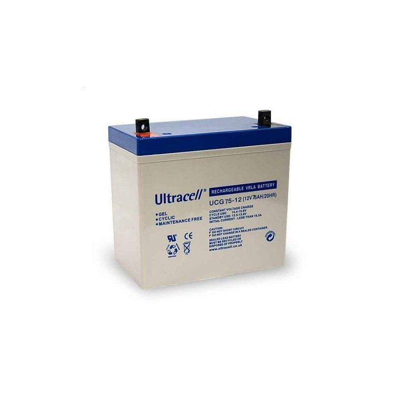 Batterie Gel Ultracell UCG75-12 12v 75ah