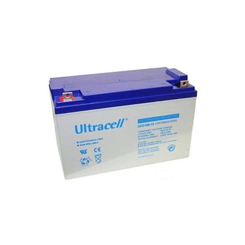 Batterie Gel Ultracell UCG100-12 12v 10ah