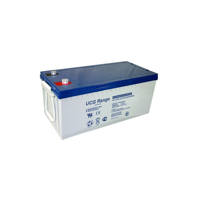 Batterie Gel Ultracell UCG200-12 12v 200ah