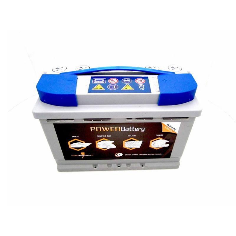 Batterie décharge lente AGM Power Battery 12v 98ah 100% étanche sans entretien