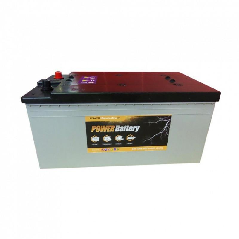 Batterie décharge lente AGM Power Battery 12v 195ah