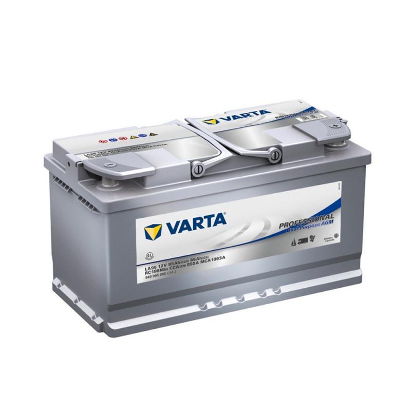 Batterie décharge lente AGM Varta LA95 12v 95ah