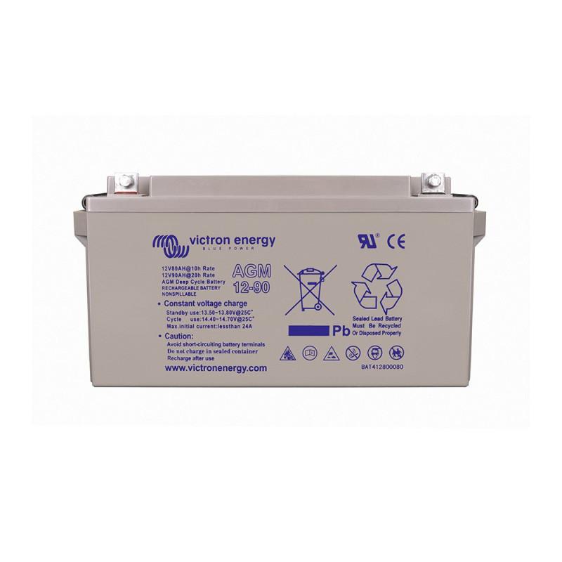 Batterie décharge lente Victron AGM 12v 90ah