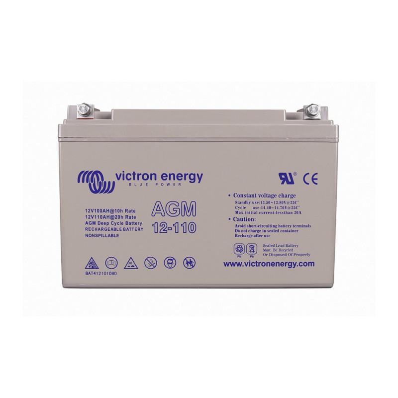 Batterie décharge lente Victron AGM 12v 110ah