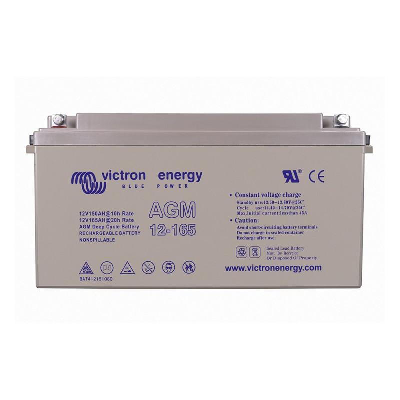 Batterie décharge lente Victron AGM 12v 165ah