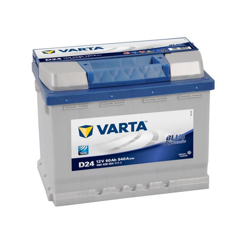 Batterie Varta Blue D24 12v 60ah 540A
