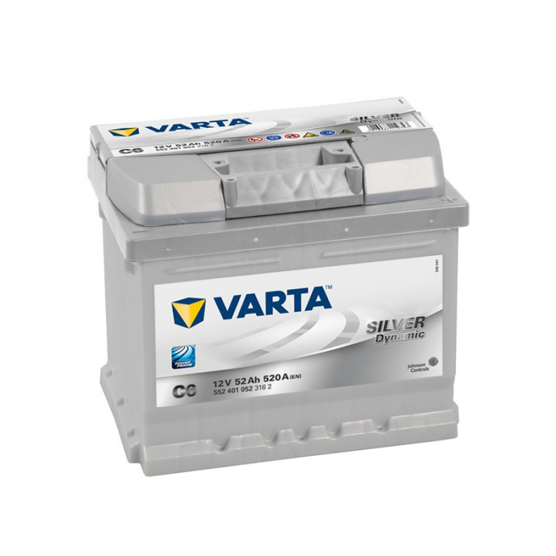 Batterie Varta Silver C6 12v 52ah 520 A