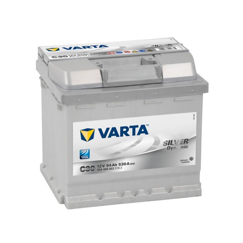 Batterie Varta Silver C30 12v 54ah 530 A