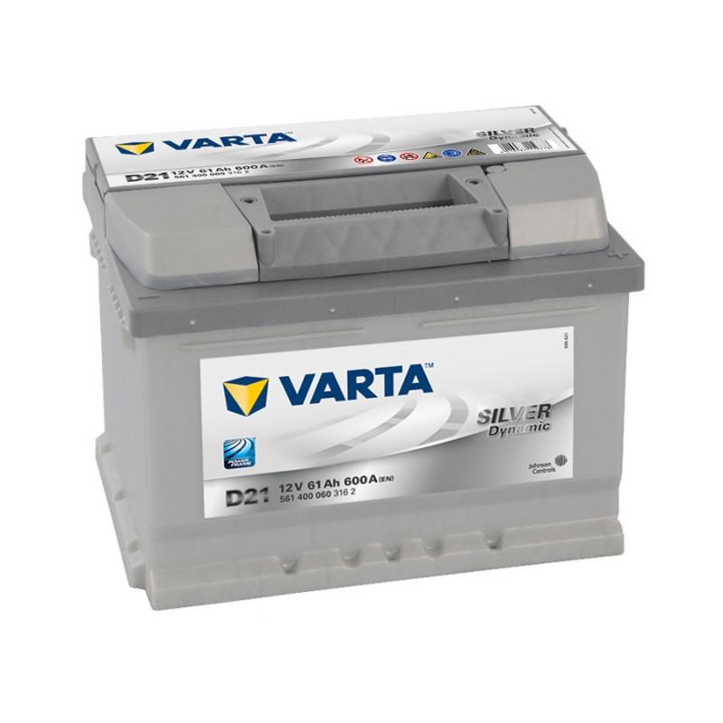 Batterie Varta silver D21 12v 63ah 610 A