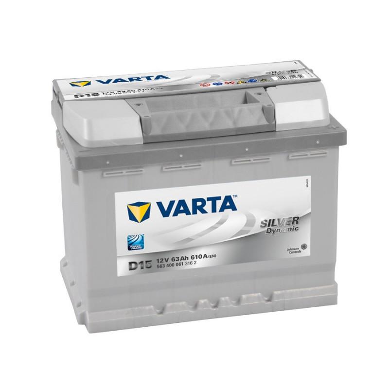 Batterie Varta Silver D15 12v 63ah 610A