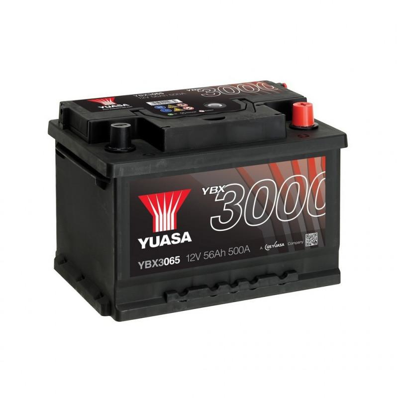 Batterie Yuasa SMF YBX3065 12V 56ah 500A