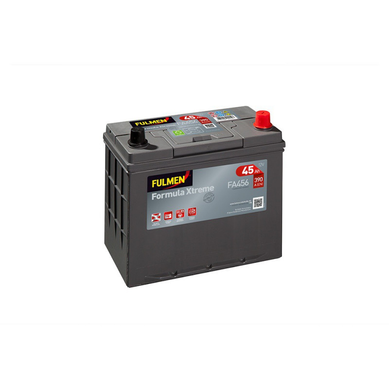 Batterie FULMEN Formula XTREM FA456 12v 45AH 390A