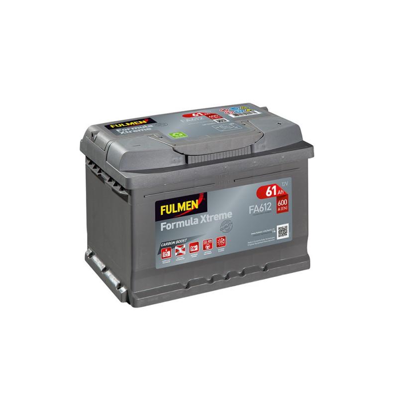 Batterie FULMEN Formula XTREM FA612 12v 60AH 600A