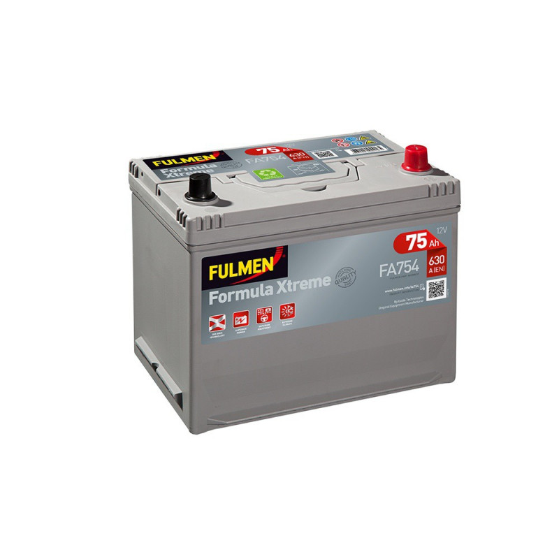 Batterie FULMEN Formula XTREM FA754 12v 75AH 630A