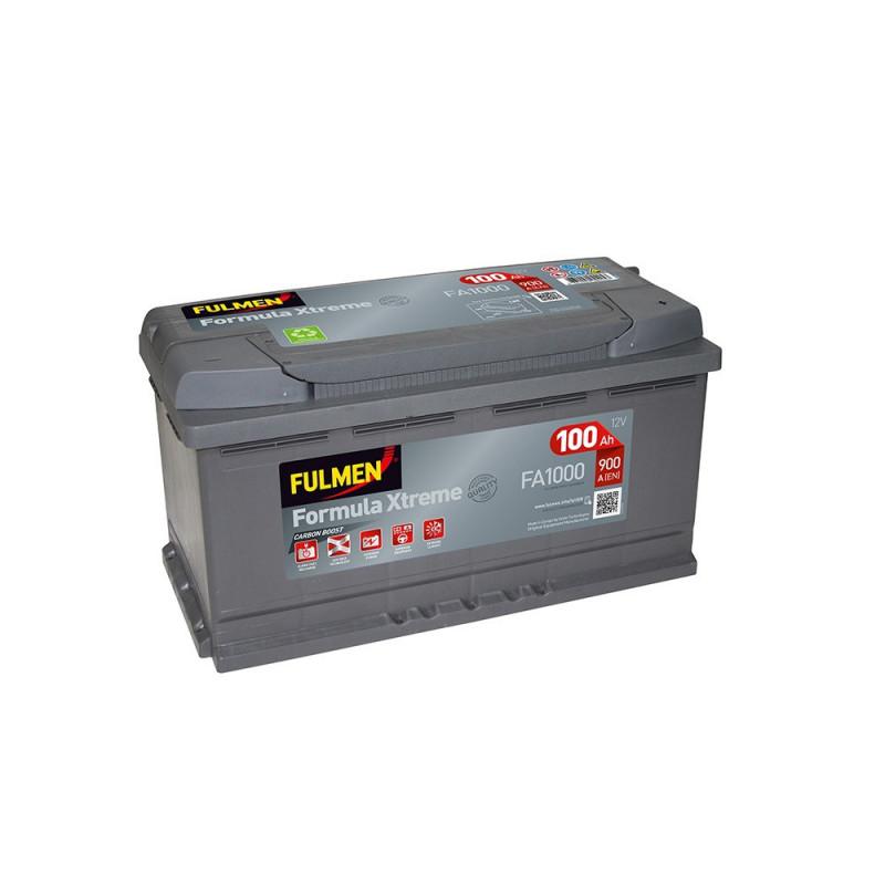 Batterie FULMEN Formula XTREM FA1000 12v 100AH 900A