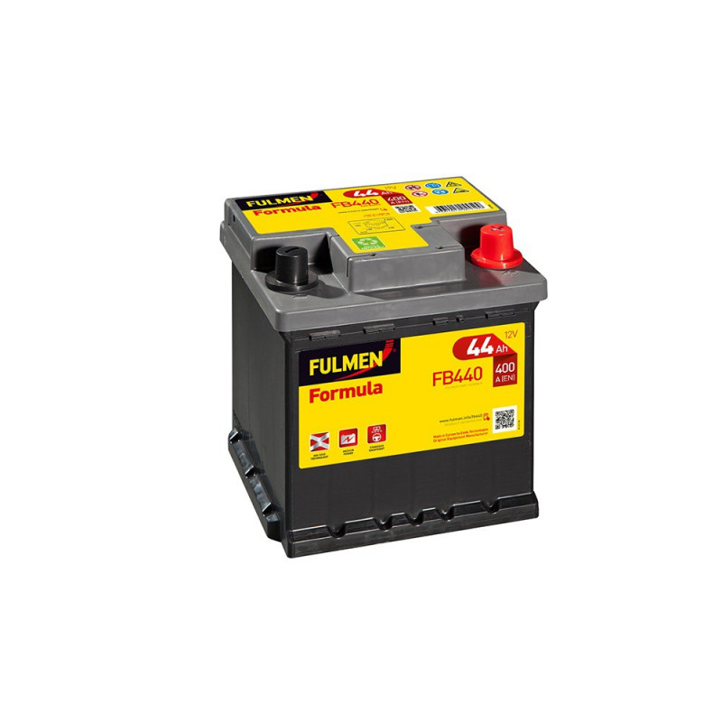 Batterie FULMEN Formula FB440 12v 44AH 400A